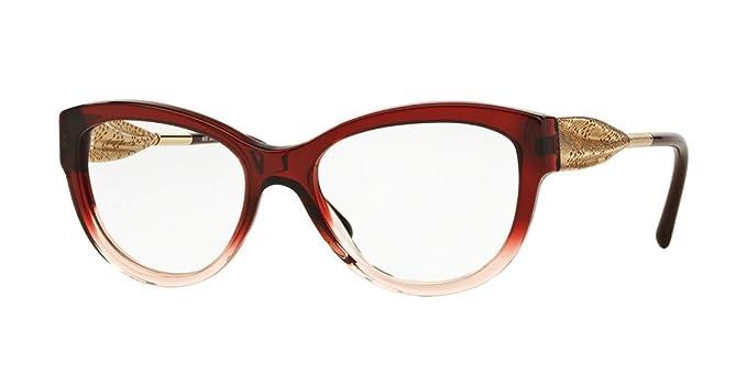51daf6c6dfa BURBERRY Eyeglasses BE 2210F 3553 Bordeaux Gradient Pink 53MM at ...