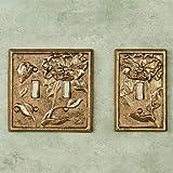 San Pacific - Custom Michelia Single Switch Antique Gold Leaf Single