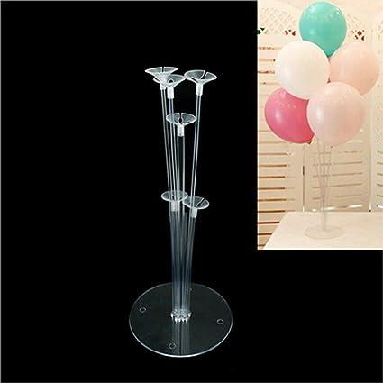Amazon.com: 1 juego de globos de columna soporte de plástico ...