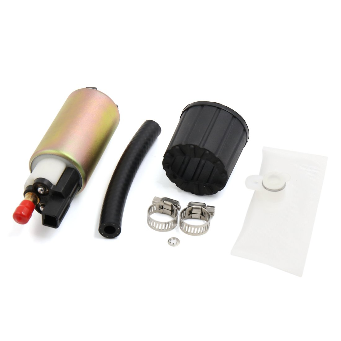 sourcingmap E2157 Electric Intank Fuel Pump With Installation Kit a17012000ux0037