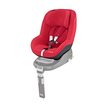 Maxi Cosi Pearl Toddler Car Seat Group 1 Isofix Car Seat Compact 9 Months 4 Years 9 18 Kg Vivid Red