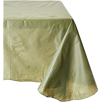 Amazon Com Carnation Home Fashions Vinyl Tablecloth With