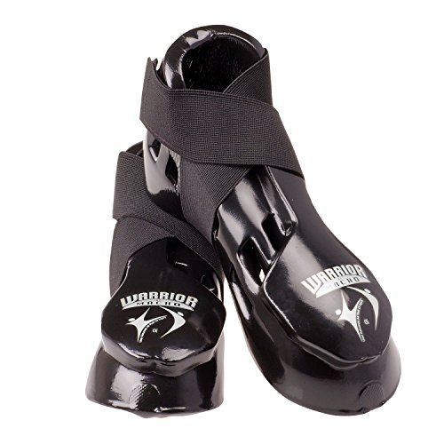 Macho Warrior Kicks Karate Sparring Shoes / Footgear - Black - Medium