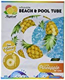 """Pool Candy Clear Pineapple Tube, 36"""""""