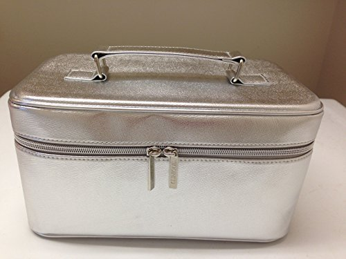 Clinique Silver Makeup Cosmetics Case