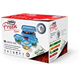 "Zyliss ""Fresh"" Glass Food Storage Containers, Leak Proof, 10-Piece Set"