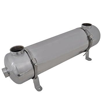 vidaXL Intercambiador Calor Calentador Piscina 75 Kw Calefactor Agua Jacuzzi