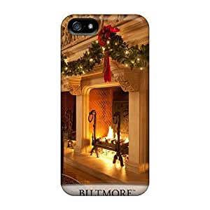 Awesome Biltmore Christmas Flip Case With Fashion Design For Iphone 5/5s
