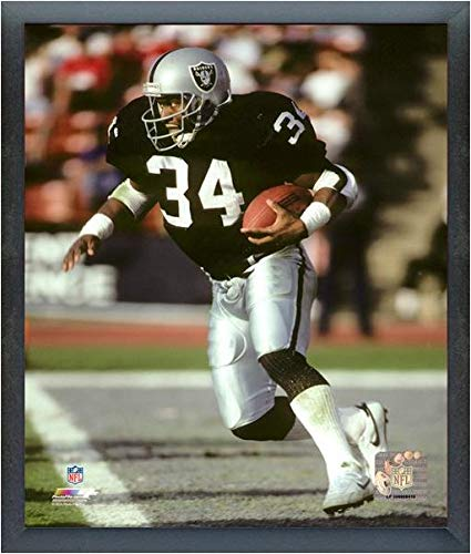Bo Jackson Oakland Raiders Action Photo (Size: 12