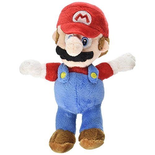 "Mario Plush, 8"" Nintendo Official Super Mario Brothers Char"