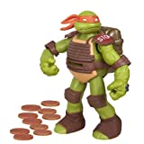 Teenage Mutant Ninja Turtles Flingers Disc Firing Michelangelo Figure