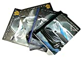 Chevrolet Corvette Convertible Muscle Car Themed School Supplies Bundle - 4 Pc, 2 Portfolios, Wide Spiral and Composition Notebooks