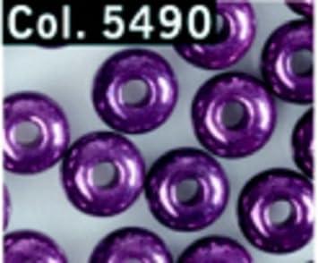 40 Perlmuttscheiben in bordeauxrot 13 mm Durchmesser
