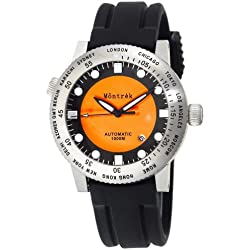 Montrek Men's M31.3131.R311 World Time Automatic Watch