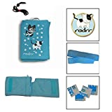3 Insulin Pump Universal Cases + Velstretch Belt - Girls