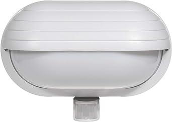 Maclean Energy MCE33 - Aplique de Pared con Detector de Movimiento 180° Sensor de luz: Amazon.es: Hogar