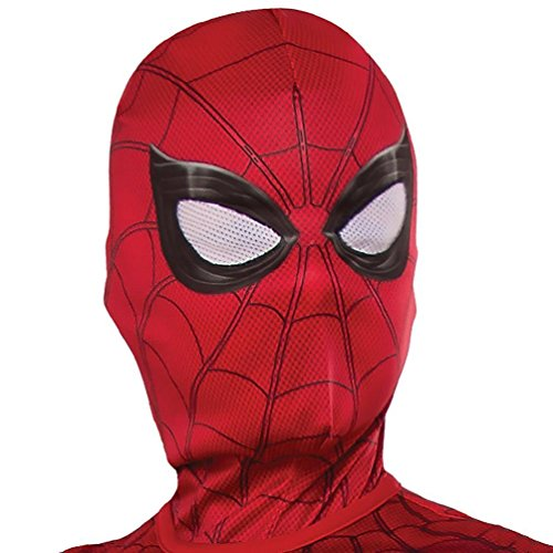 Rubie's Costume Men's The Amazing Spider-man 2 Adult Spider-man Costume Hood / Overhead Mask, Multi, One Size (Adult Amazing Spiderman Costume)