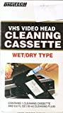 vhs head cleaner cassette - DigiTech VHS Video Head Cleaning Cassette Wet/Dry Type