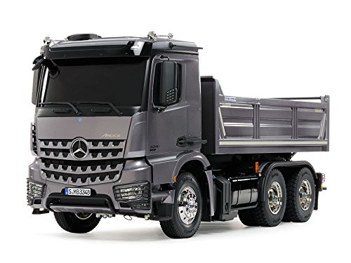 TAMIYA 1/14 SCALE RADIO CONTROL MERCEDES-BENZ AROCS 3348 6×4 TIPPER TRUCK FULL SET (Assembly Kit) 57072【Japan Domestic Genuine Products】【Ships from (Tamiya Rc Truck)
