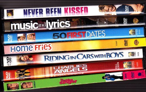 Never Been Kissed , Music and Lyrics , 50 First Dates , Home Fries , Riding in Cars with Boys , Charlie's Angels , the Wedding Singer : Drew Barrymore Collection by Drew Barrymore