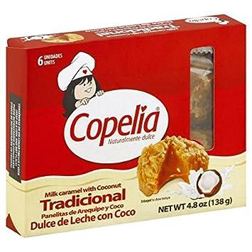 COPELIA Panelita de Arequipe y Coco/Milk caramel with Coconut x 6 (138 gr