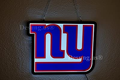 Desung.us® Revolutionary New York Giants LED Neon Light Sign High Quality Design Decorate 3rd Generation Sign