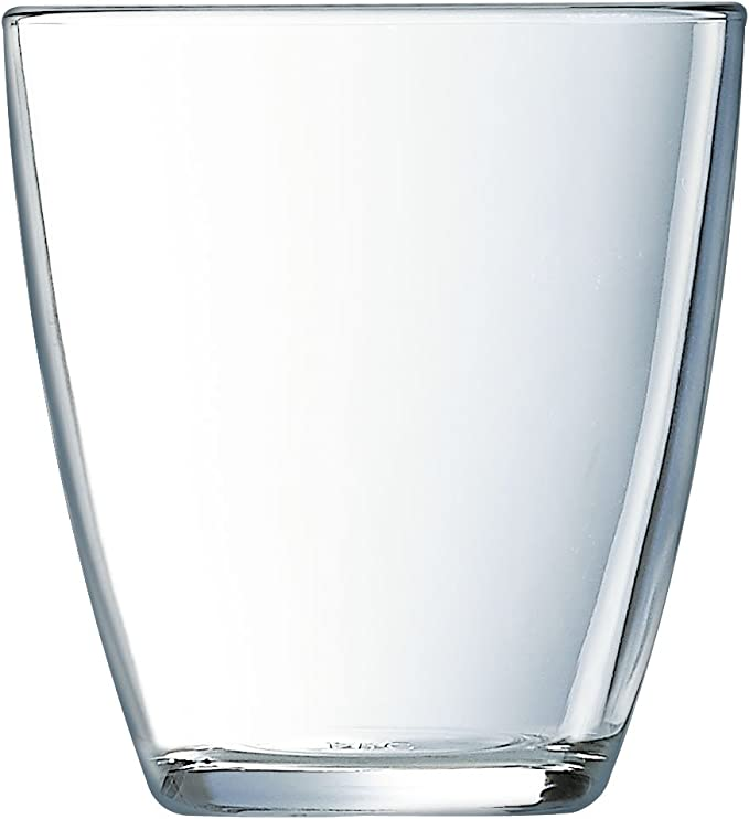 Luminarc Concepto Lisse - Set de 6 vasos, forma alta, 31 cl ...