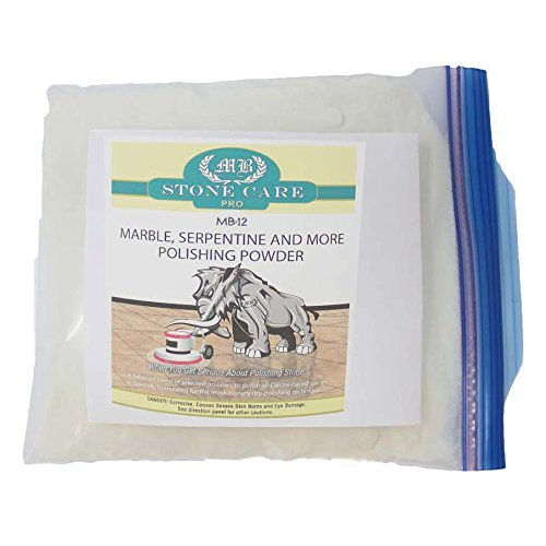MB-12 Stone Polishing Powder for Marble - 1 Lb. by MB Stone Care