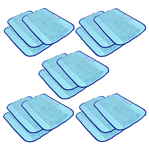SANNYSIS 15PC Pro-Clean Mopping Cloths for Braava Floor Mopping Robot 380 380T