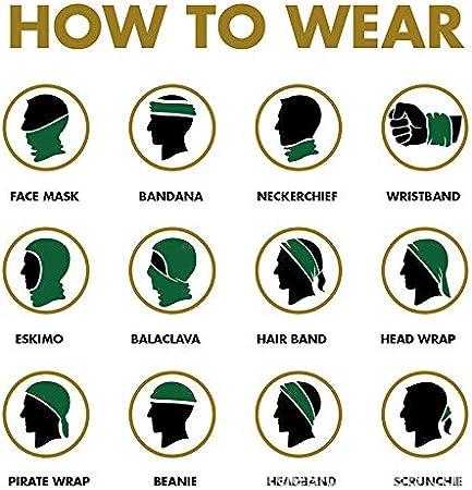 Bandana Mundschutz Halsmanschette f/ür Workout Running f/ür Unisex Hulk-multifunktionale Kopfbedeckung Bandana Sports Face Covers