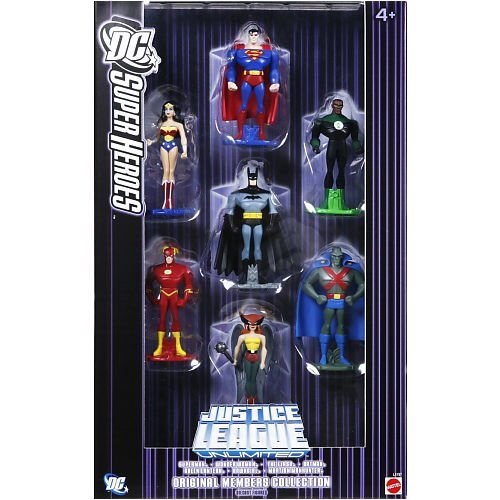 (Justice League Unlimited Original Members Die-Cast Figure)