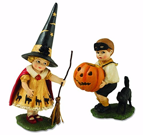 Halloween Trick Or Treaters (Bethany Lowe TD4023 Little Halloween Trick or Treater Set/2 New)