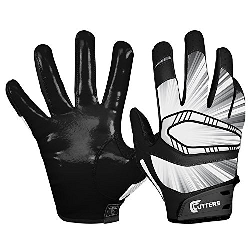 Cutters Gloves REV Pro Receiver Glove (Pair), Black, X-Large ()