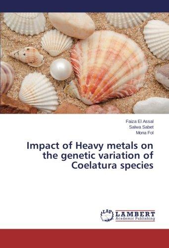 Impact of Heavy metals on the genetic variation of Coelatura species