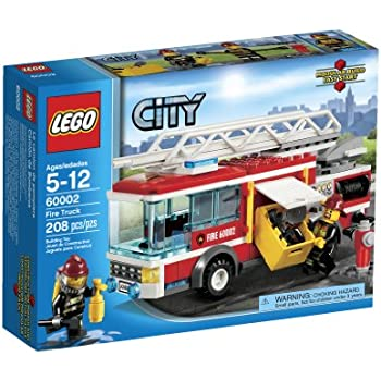 Amazon Lego City Fire Truck 60002 Toys Games