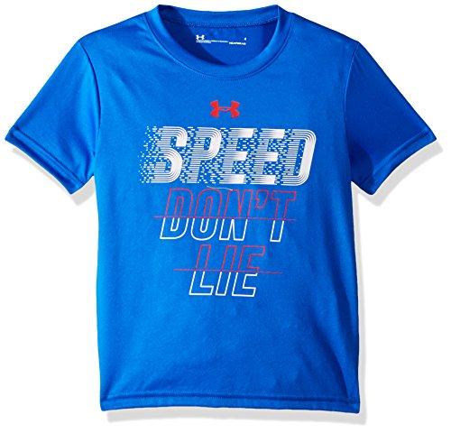 Under Armour Boys' Toddler Attitude SS Tee Shirt, Ultra Blue