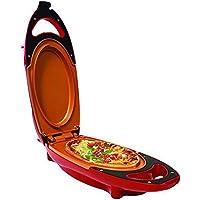 antiadhésif Omelette Maker électrique Poêle à frire avec deux plaques très Parfait de cuisine Helper pour Bake Frittatas, Paninis, pizzas