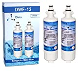 water filter 04609690000p - 2-Pack - LG LT700P and Kenmore 46-9690 Compatible Water Filter