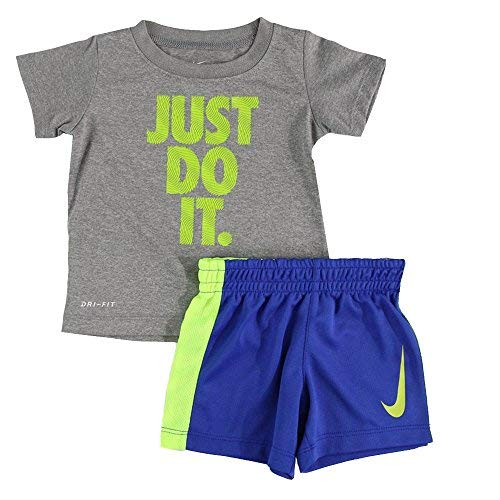 (NCAA Nike Penn State Nittany Lions Toddler Navy Blue Mock Double Layer T-shirt & Pants Set (2T))