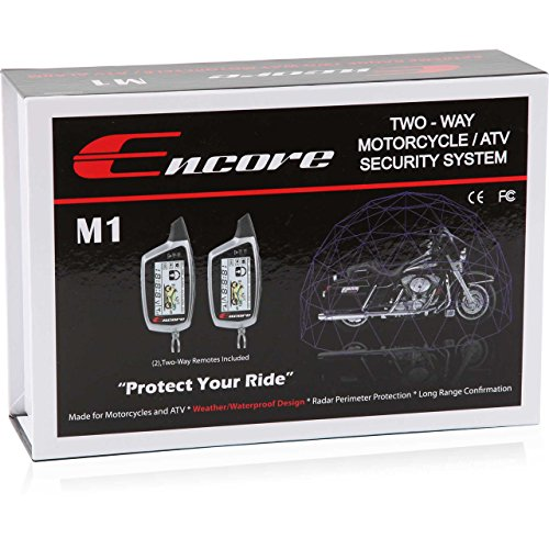 Motorcycle Alarm Remote - Encore Universal Power Sports Security System (ENC-M1)