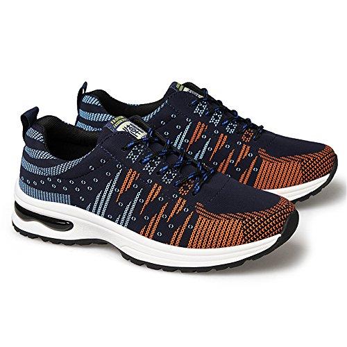 Calzado Running Hombre Zapatillas Deportivas Aire Libre y Deportes Numero 39-44 Azul