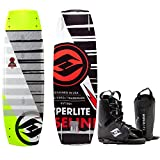 Hyperlite Baseline Wakeboard Mens 136cm + Hyperlite Bindings O/S 8-12