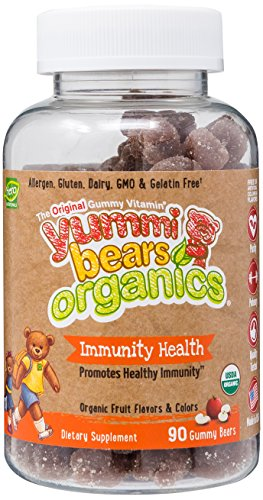 Yummi Bears Organics Immunity Supplement product image