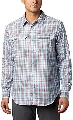 Columbia Silver Ridge 2.0 Camisa A Cuadros De Manga Larga, Hombre, Clear Water Gingham, S: Amazon.es: Deportes y aire libre