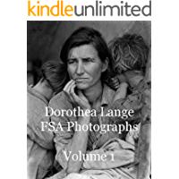 Dorothea Lange FSA Photographs Volume 1 book cover