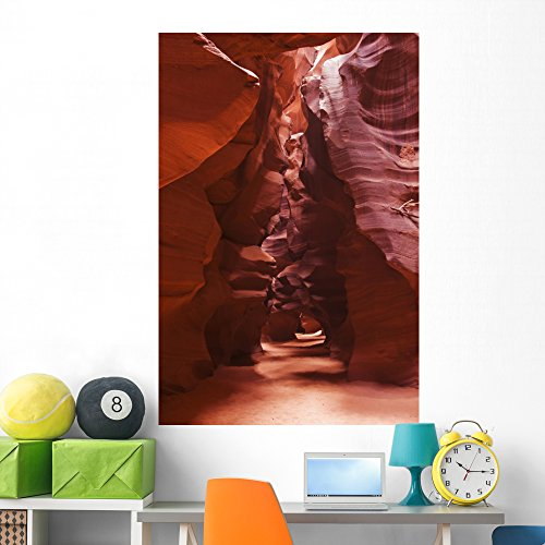 (Wallmonkeys Antelope Canyon Caverns Wall Mural Peel and Stick Graphic (60 in H x 40 in W) WM286663 )