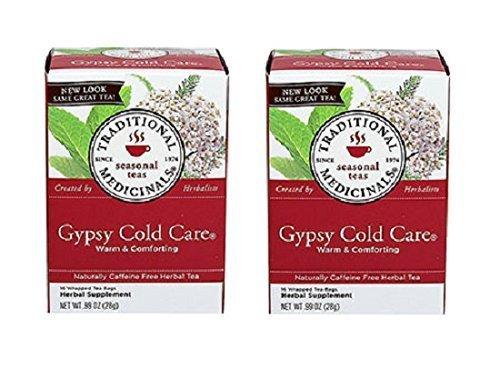 Gypsy Care Cold (Traditional Medicinals Gypsy Cold Care® Tea: 32 TEA Bags)