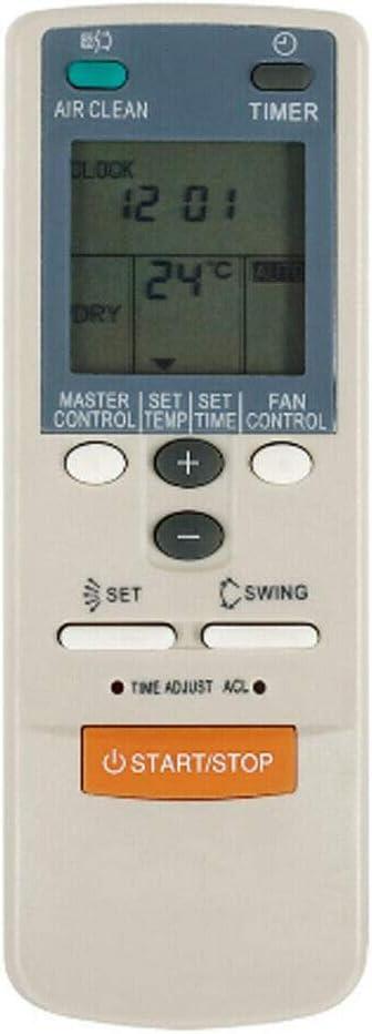 Jaimenalin Control Remoto Universal para Fujitsu Aire Acondicionado KTFST001 AR-JW27 AR-DB7 AR-DB6 Funci/óN de Calor Fr/íO