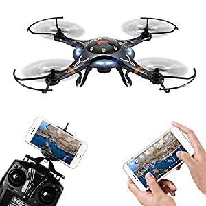 Cheerson CX-32W Black 2.4G 4CH 6-axis WIFI Control Quadcopter 51f 2BXuozsuL