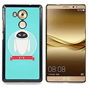 Character Space Blue Cute Caja protectora de pl??stico duro Dise?¡Àado King Case For Huawei Mate 8